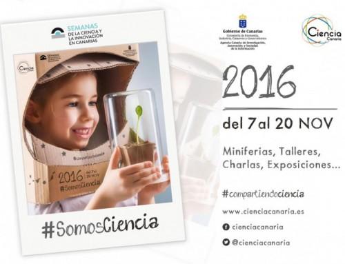 Semanas de la Ciencia y la Innovación en Canarias 2016